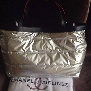76eda7d09e2d CHANEL Bags | Airline Terry Beach Tote With Towel Nwt | Poshmark